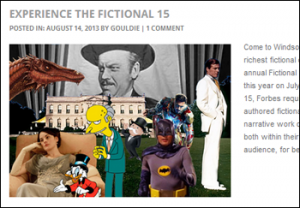 Forbes' Fictional 15