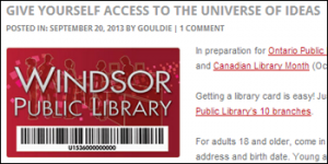 Get a WPL Library Card