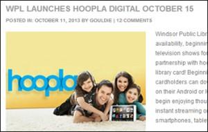 WPL launches hoopla digital