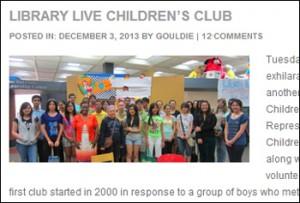 Library Live Children's Club