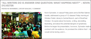 Kevin Sylvester at WPL